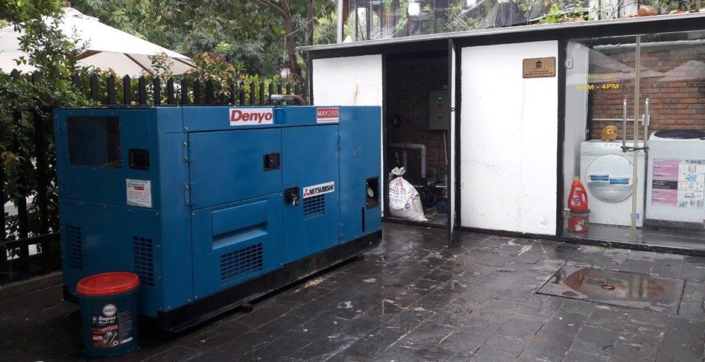 Bảo trì bảo dưỡng máy phát điện Mitsubishi kVA