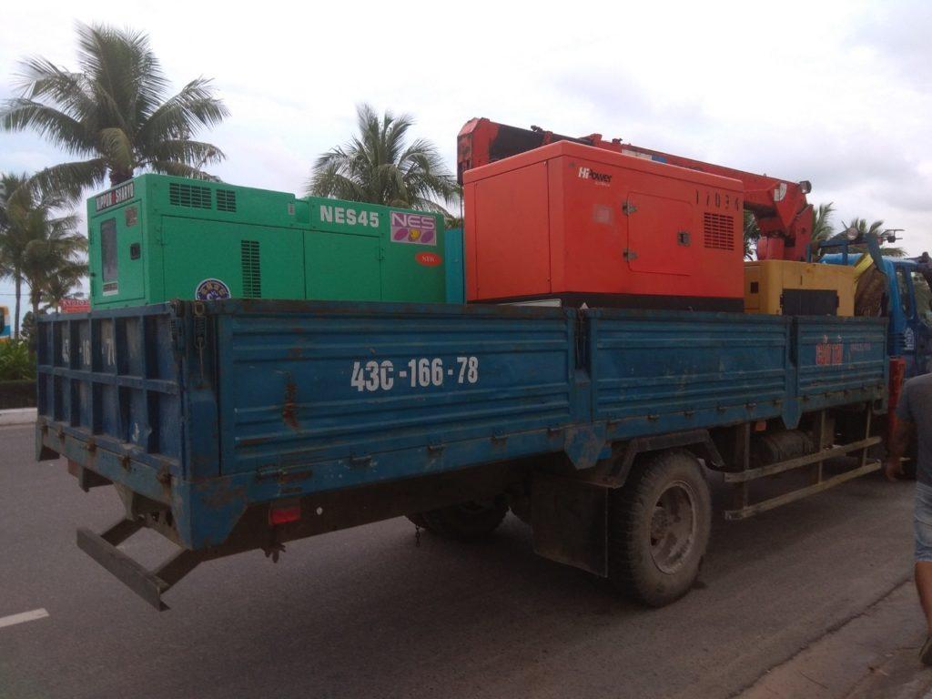 Cho thuê máy phát điện tại Đà Nẵng Quảng Nam