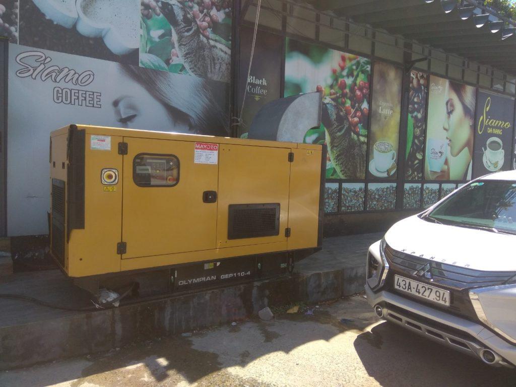 Cho thuê máy phát điện tại Hội An Quảng Nam