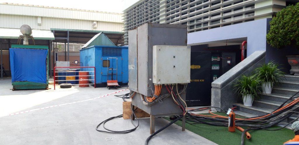 Cho thuê tải giả test máy phát điện trạm biến áp Ups