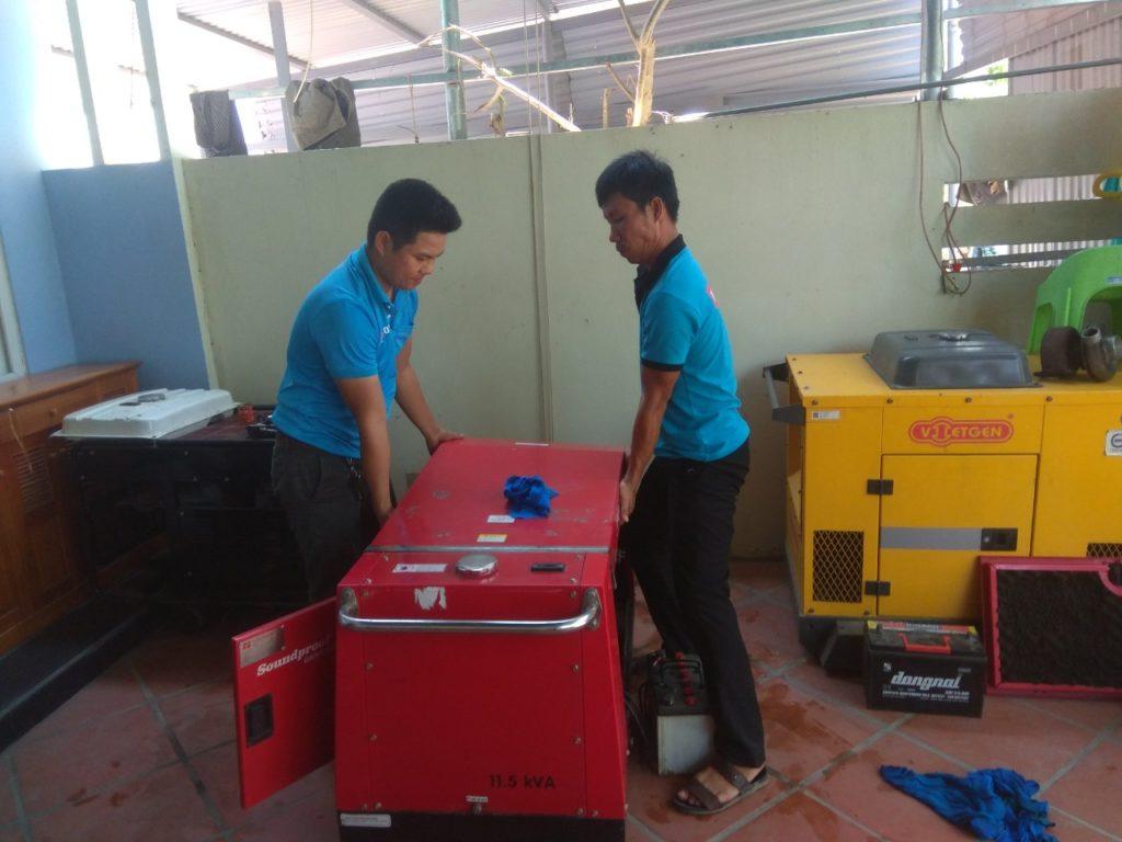 Bảo dưỡng máy Honda xăng 8-10kVA