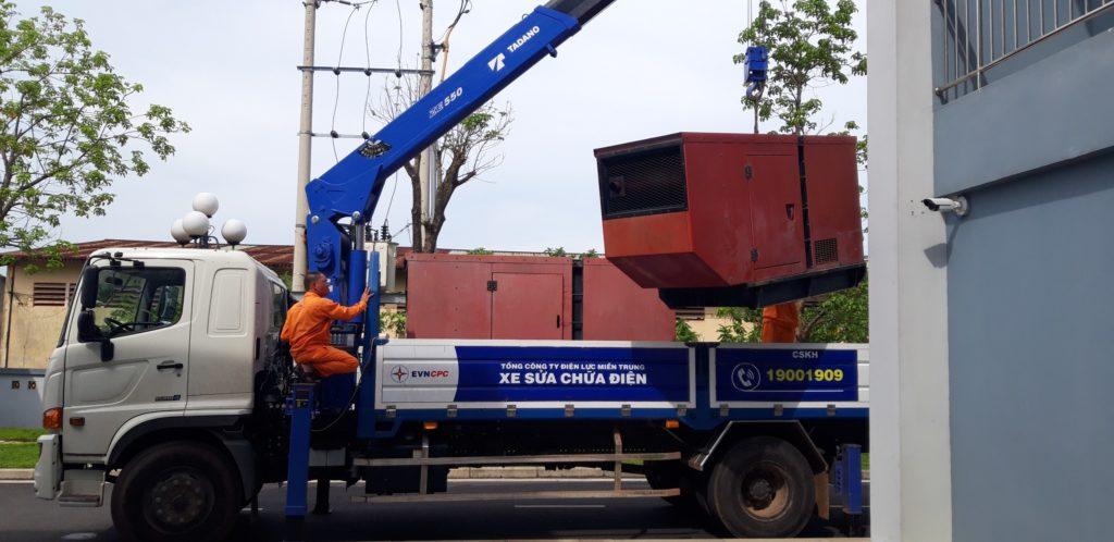 Máy phát điện cũ tại Quảng Nam