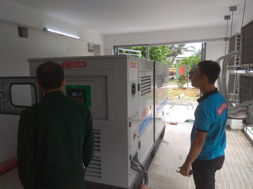 Máy phát điện Vietgen 150 kVA tại Đà Nẵng