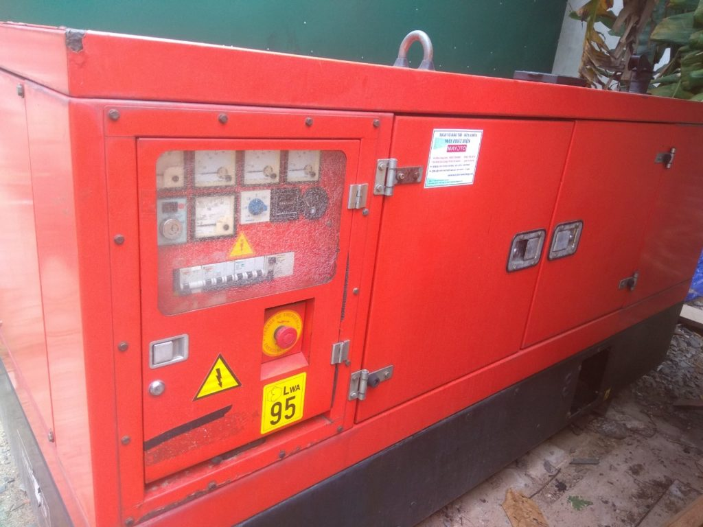 Máy phát điện FPT Iveco nhập khẩu
