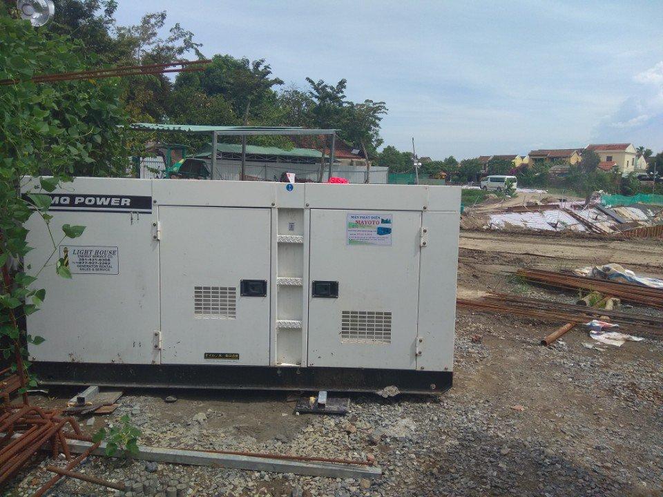 Máy tại ctrinh xử lý nước thải Hội An