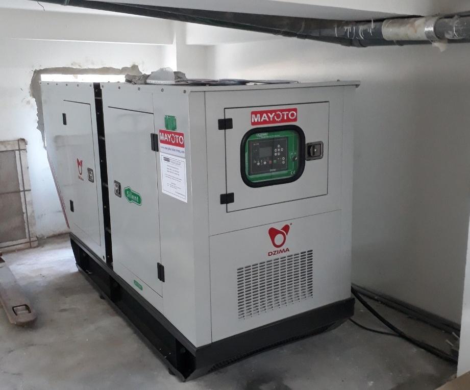 May phat dien Baudouin 100 kVA