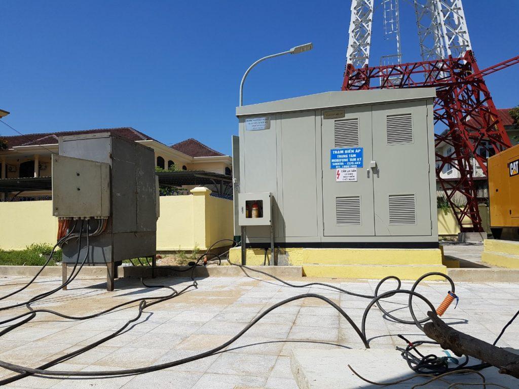 Test MPĐ và Trạm BA Mobifone Tam Kỳ