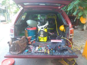 Xe bảo trì sửa chữa lưu động MAYOTO.vn