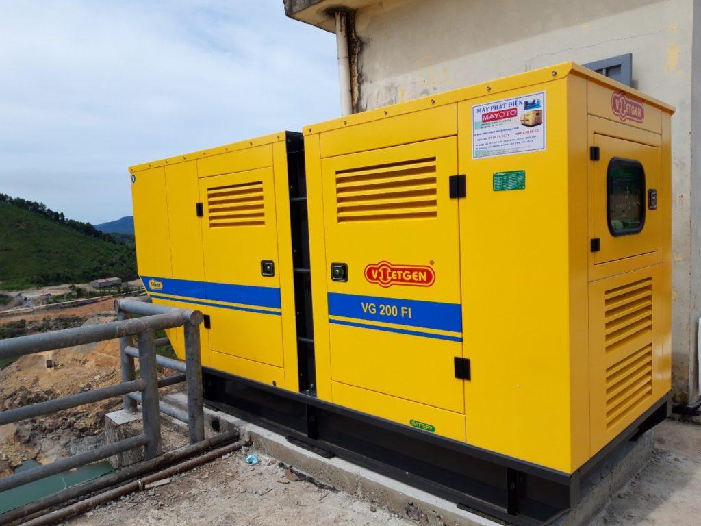 Máy 200 kVA Thừa Thiên Huế